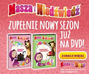 Masza  i nedźwiedź - zupełnie nowy sezon już na DVD!
