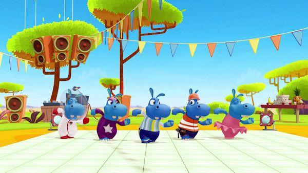Nowe szalenstwa radosnych hipopotamow