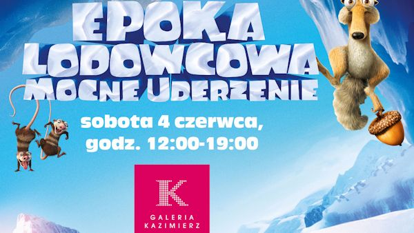 Epoka lodowcowa krakow600