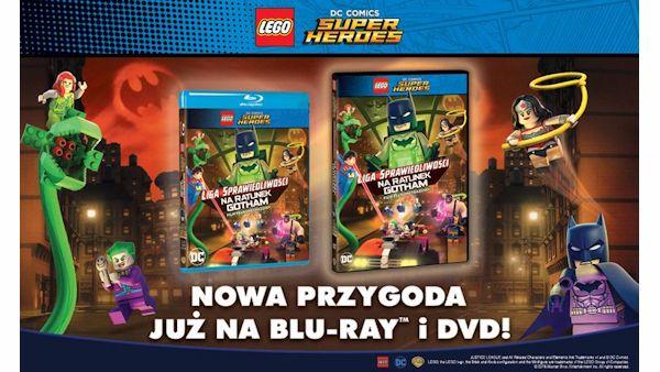 Lego liga sprawiedliwosci na ratunek