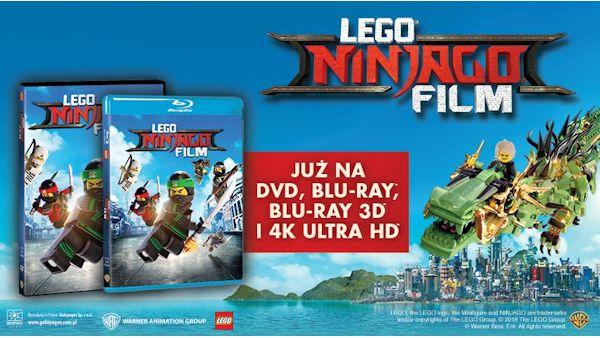 Lego ninjago film plansza