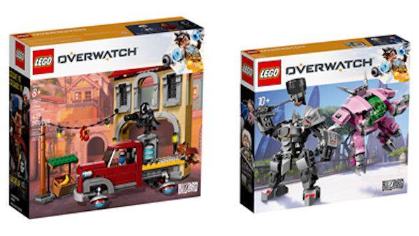 Kolekcjonerskie lego overwatch