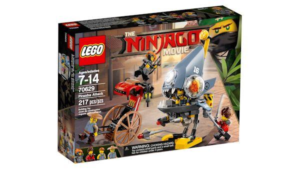 Lego ninjago movie nowe zestawy