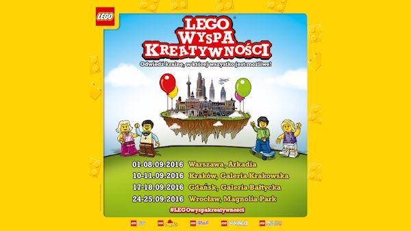 Lego wyspa kreatywnosci