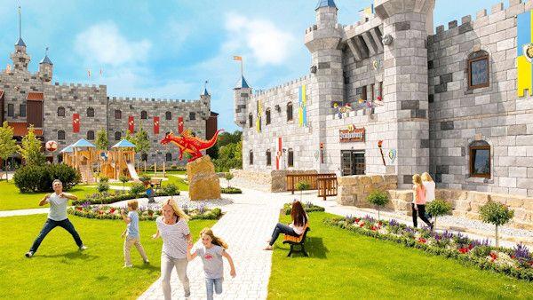 Legoland zamek