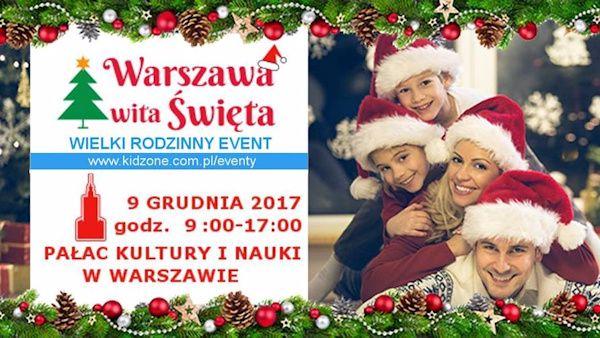 Warszawa wita swieta