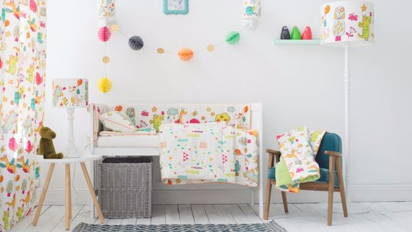 Wiosenny pokoj dla dziecka