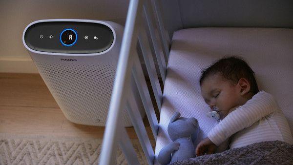 Oczyszczacz powietrza tryb monitorowania noca
