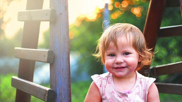 Dziecko pomocnik ogrod