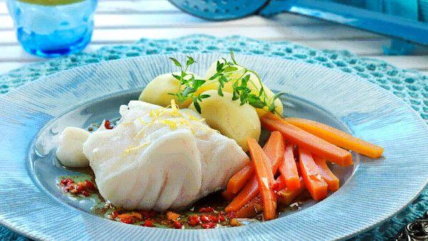 Jedzenie bialych ryb