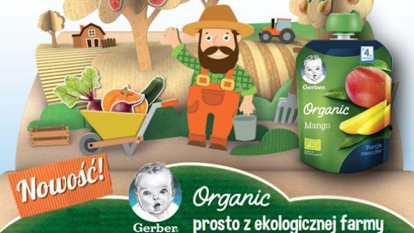 Ruszyla kampania gerber organic