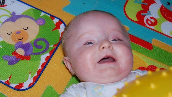 Dziecko uśmiech