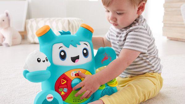 Zabawki ucza jezyka