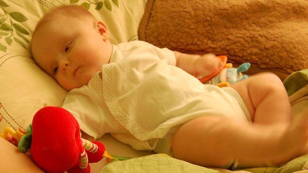 Otyly niemowlak