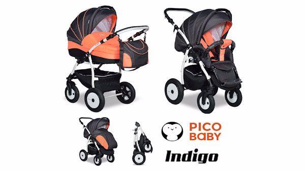 Indigo carbon orange 2w1