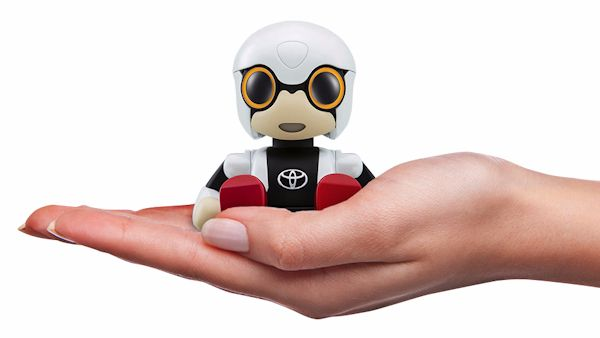 Robot dziecko japonia