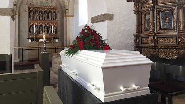 Skandal pogrzeb dziecka