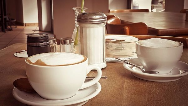 Picie kawy ciąża