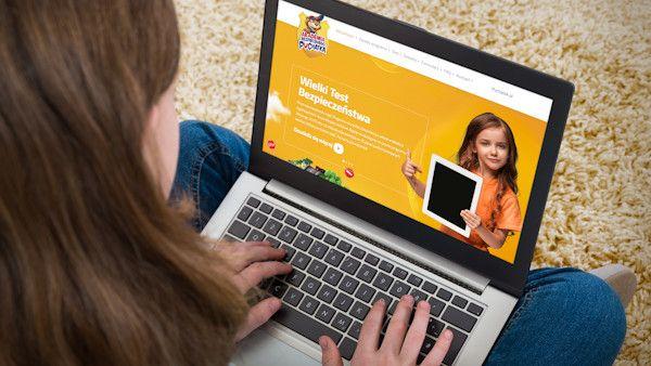 Zadbaj bezpieczenstwo dzieci internet