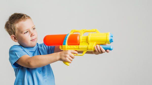 6latek postrzelony rowiesnik