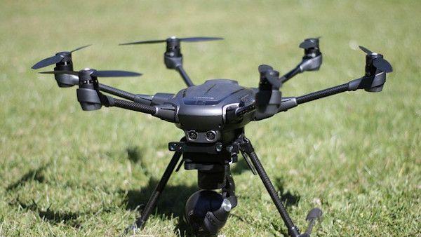 Dron spadl roczne dziecko