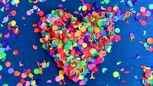 Dziecko polknelo konfetti