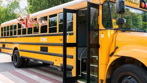 Szkolny autobus pomylka