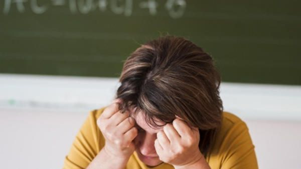Nietrzezwa nauczycielka