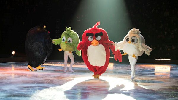 Angry birds on ice