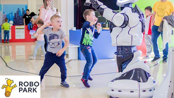 Interaktywna wystawa robotow