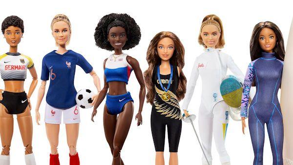 Barbie sportsmenki