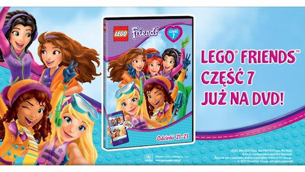 Wygraj 7 Część Przygód Lego Friends