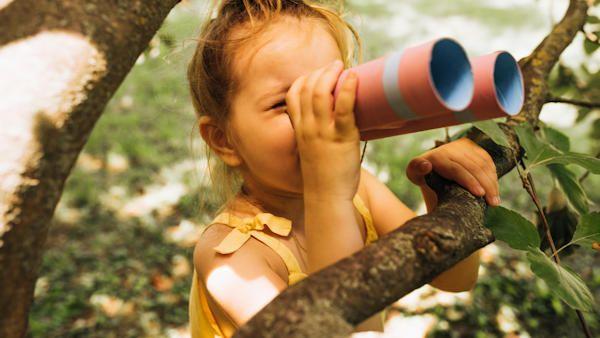 Zabawy dziecko lono natury