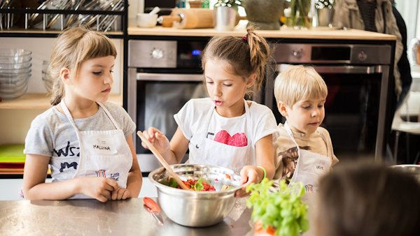 Wspólne Gotowanie Z Dziećmi