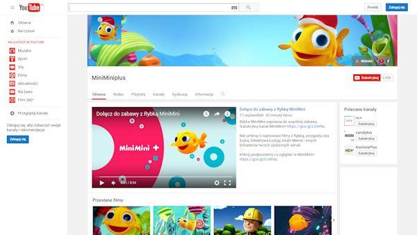 Rybka minimini youtube
