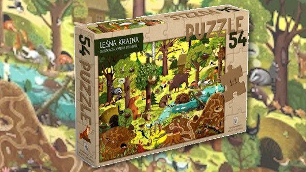 Lesna kraina puzzle