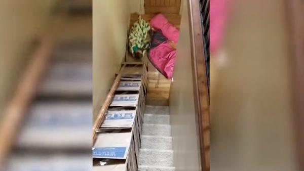 Zjezdzalnia schody