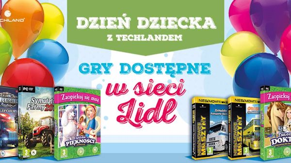 Gry techland lidl
