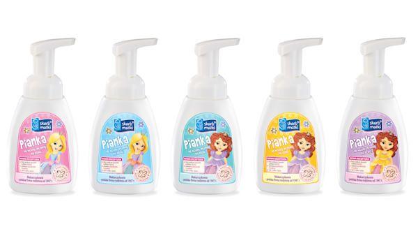 Pianki higiena intymna