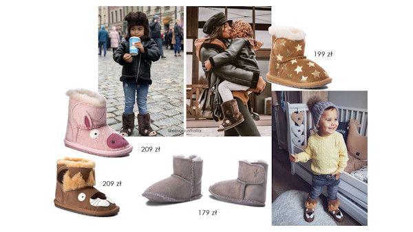 Zimowe buty dla najmlodszych