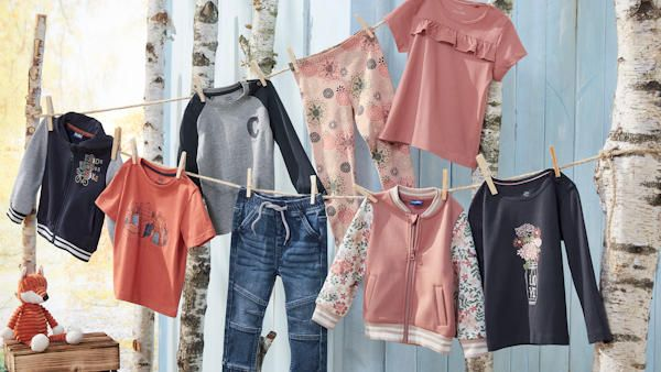 Szeroki wybor odziezy dzieciecej