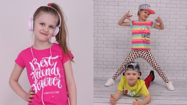Modne ubrania dzieci lato