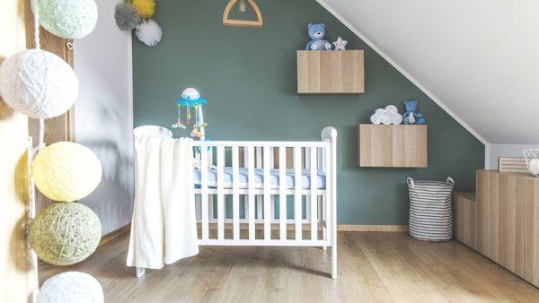 Sypialnia narodziny dziecka