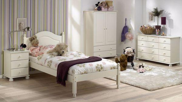 Romantyczna sypialnia mama corka