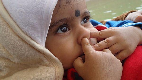 Jak nauczyc dziecko dmuchac nos