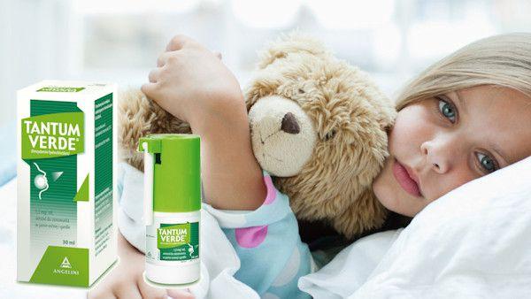 Choroby gardla u dzieci
