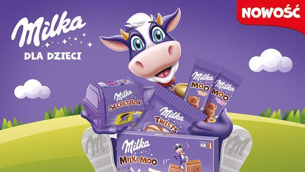 Milka dla dzieci