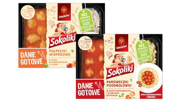Sokoliki dania gotowe dzieci