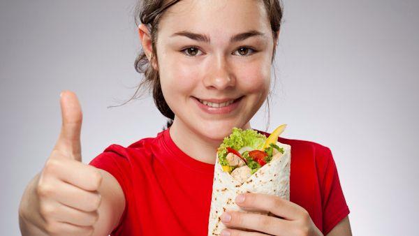 Zdrowa dieta mlodego ucznia