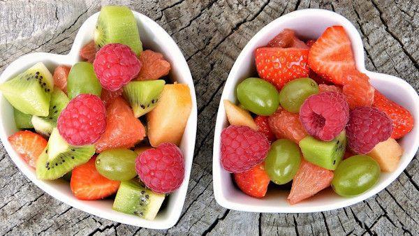 Delikatne zboza owoce